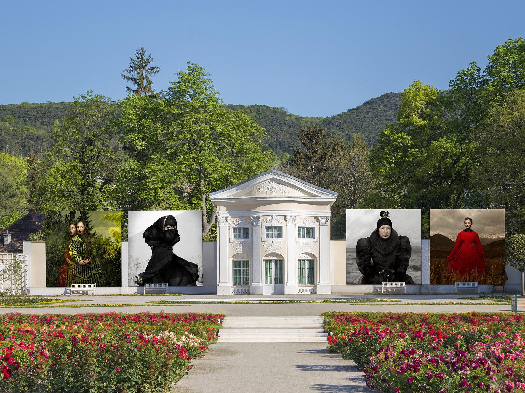 Wie im Vorjahr wird auch die Orangerie im Doblhoffpark wieder als Freiluftkulisse des Festival LaGacilly-Baden Photo dienen.