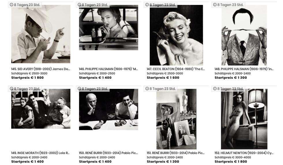 Der Katalog für die WestLicht Photo-Auction kann sowohl online eingesehen als auch in einer gedruckten Version bestellt werden.