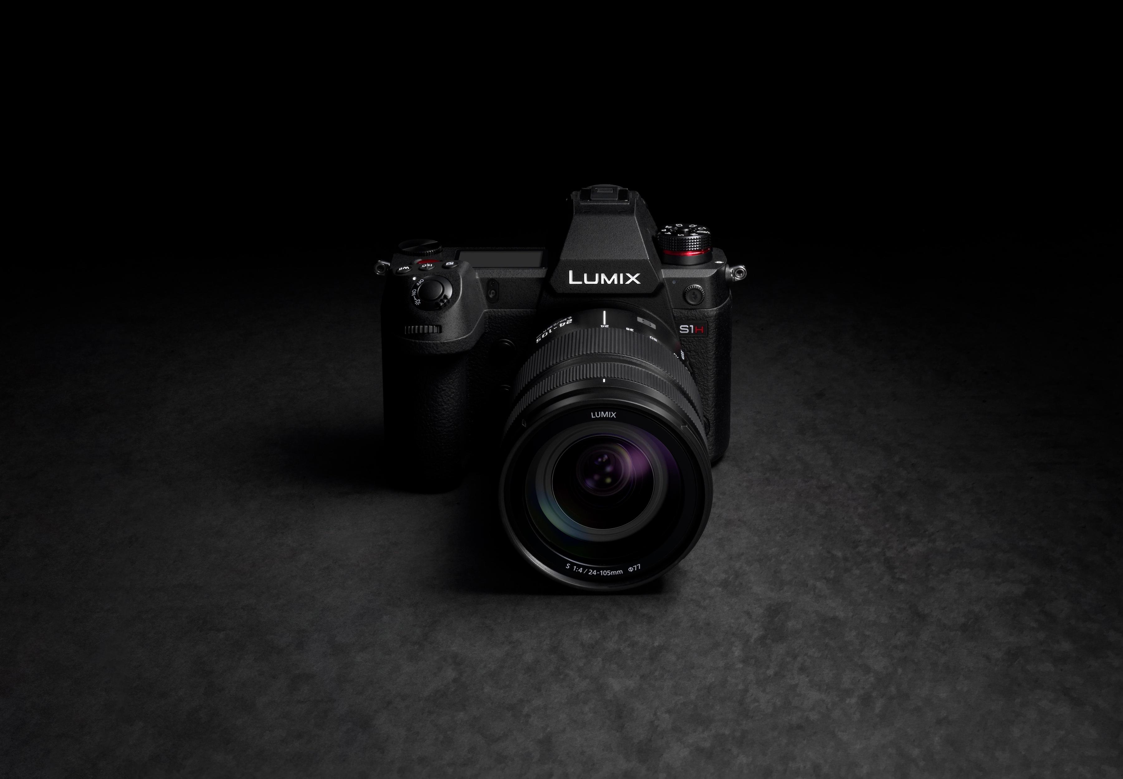 Die videooptimierte LUMIX S1H ist von Panasonic für für Juli angekündigt.
