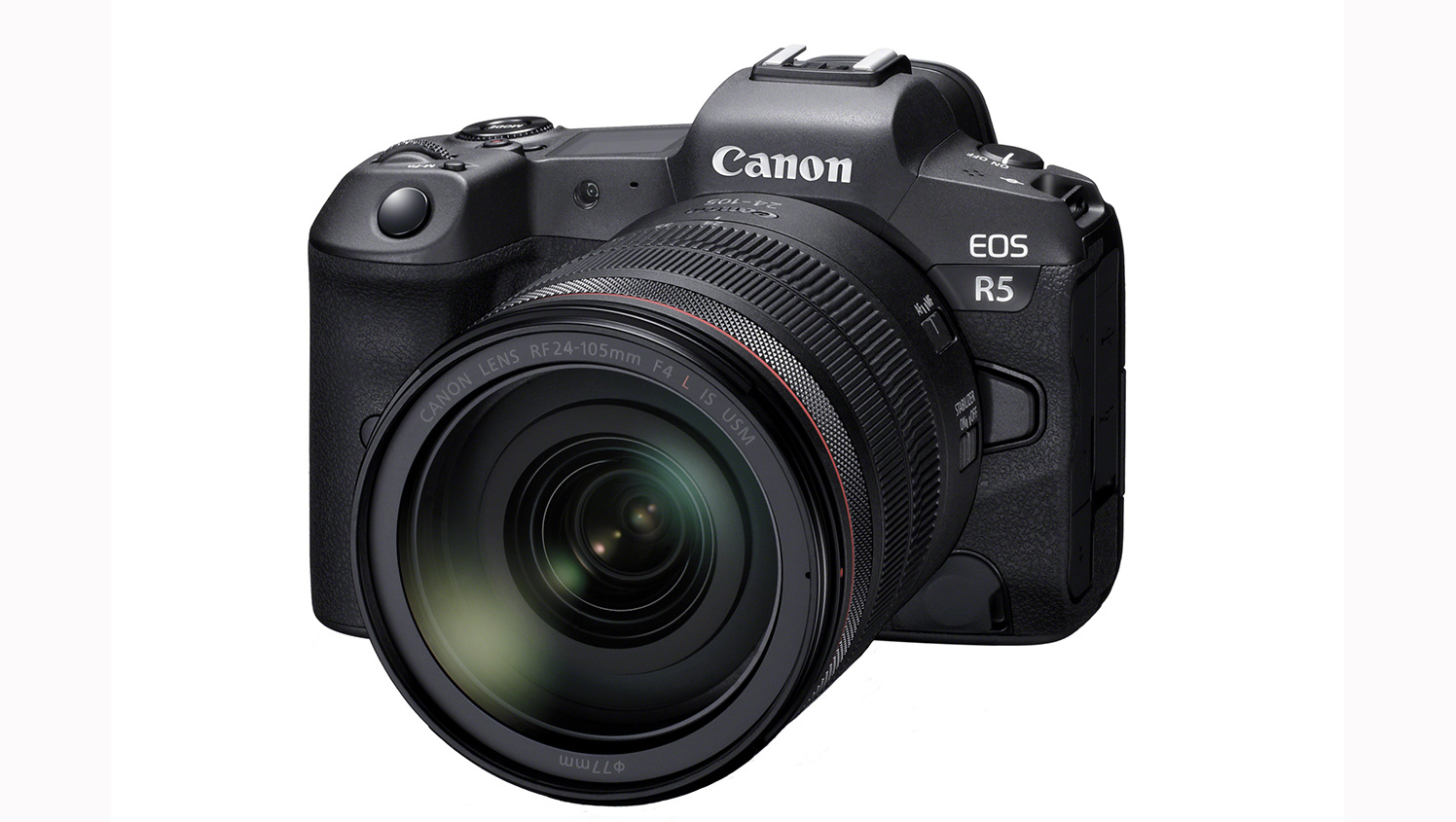 Canon EOS R5: eine spiegellose Vollformatkamera für Profis mit 8K-Video.