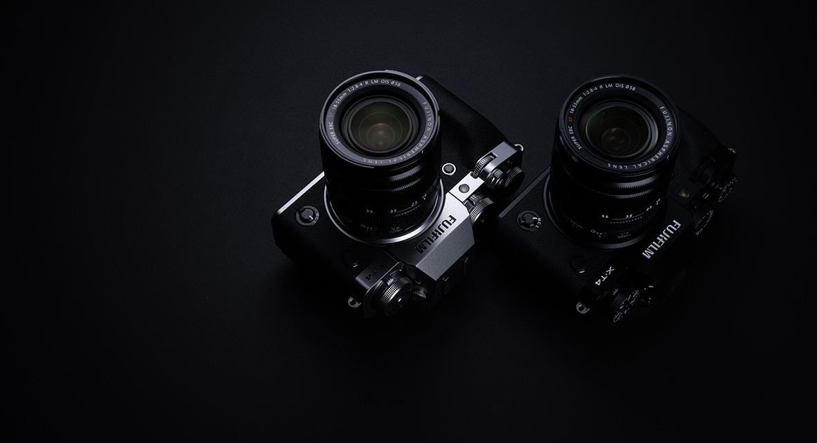Die Fujifilm X-T4 ist in den Farben Schwarz und Silber ab Ende April 2020 erhältlich.