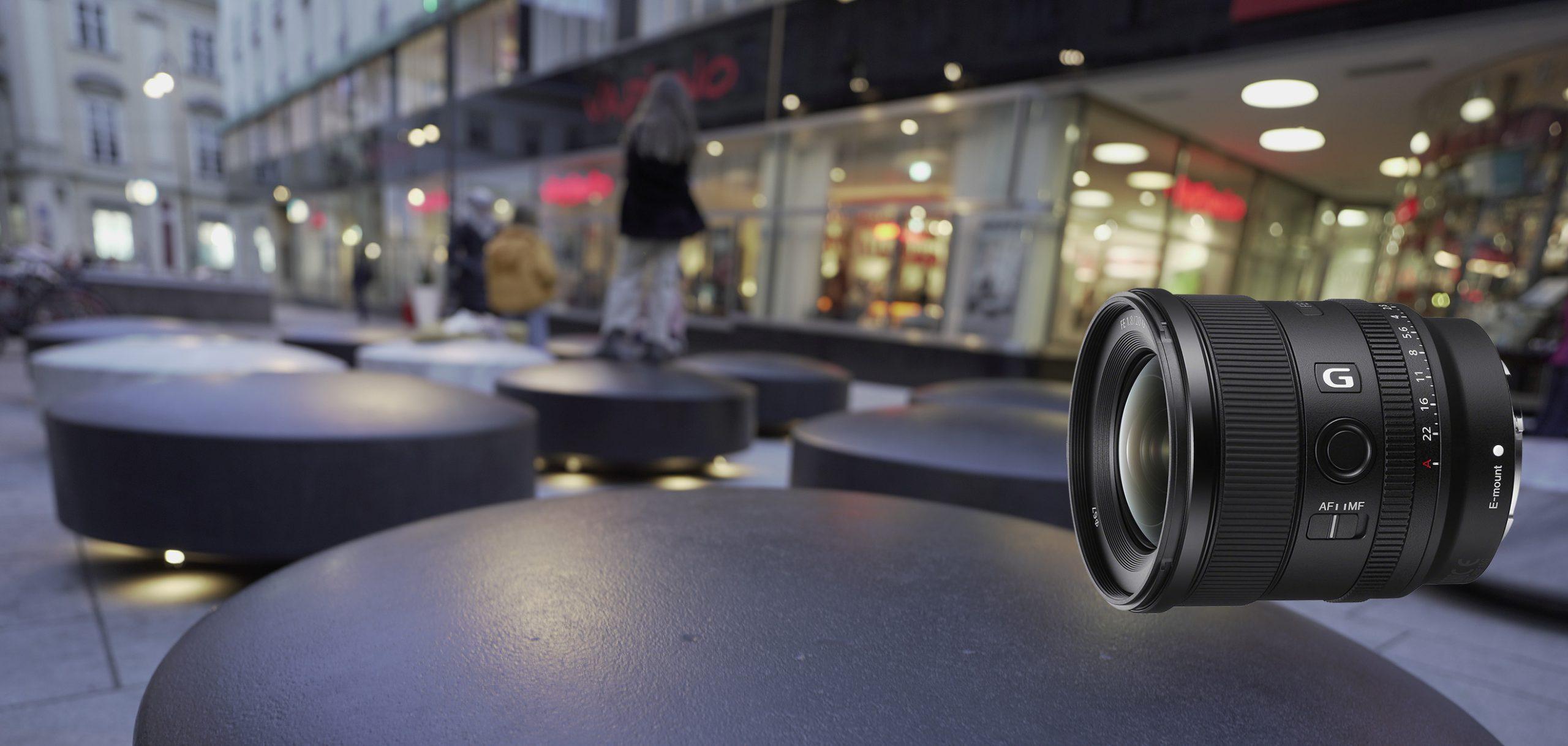 Das Sony FE 20 mm F1.8 G ist ein lichtstarkes E-Mount-Vollformatobjektiv mit einemsehr schönen Bokeh.