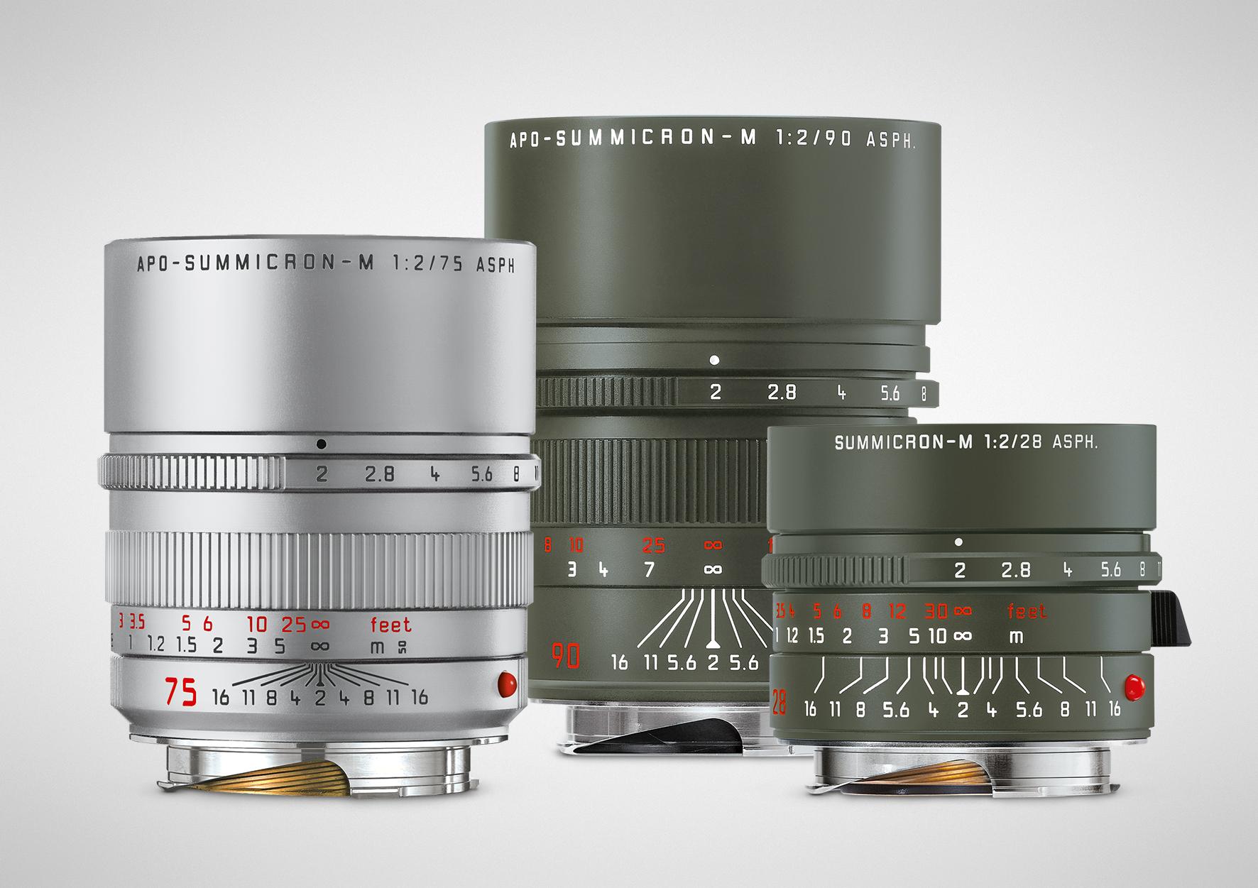 Die technischen Spezifikationen der drei neuen Objektive entsprechen denen der jeweiligen Serienmodelle.