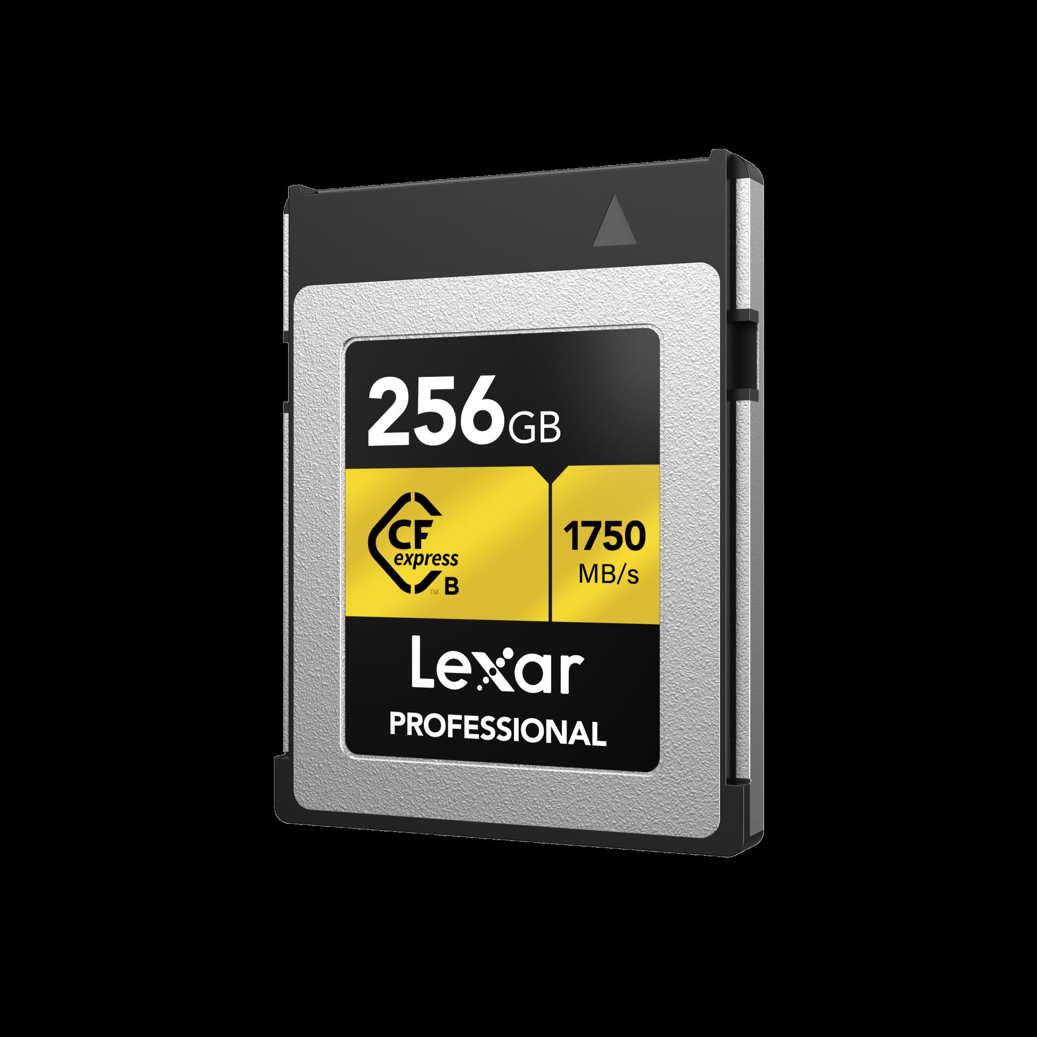 Die Lexar Professional CFexpressTyp B mit 256 GB kostet rund 290 Euro.