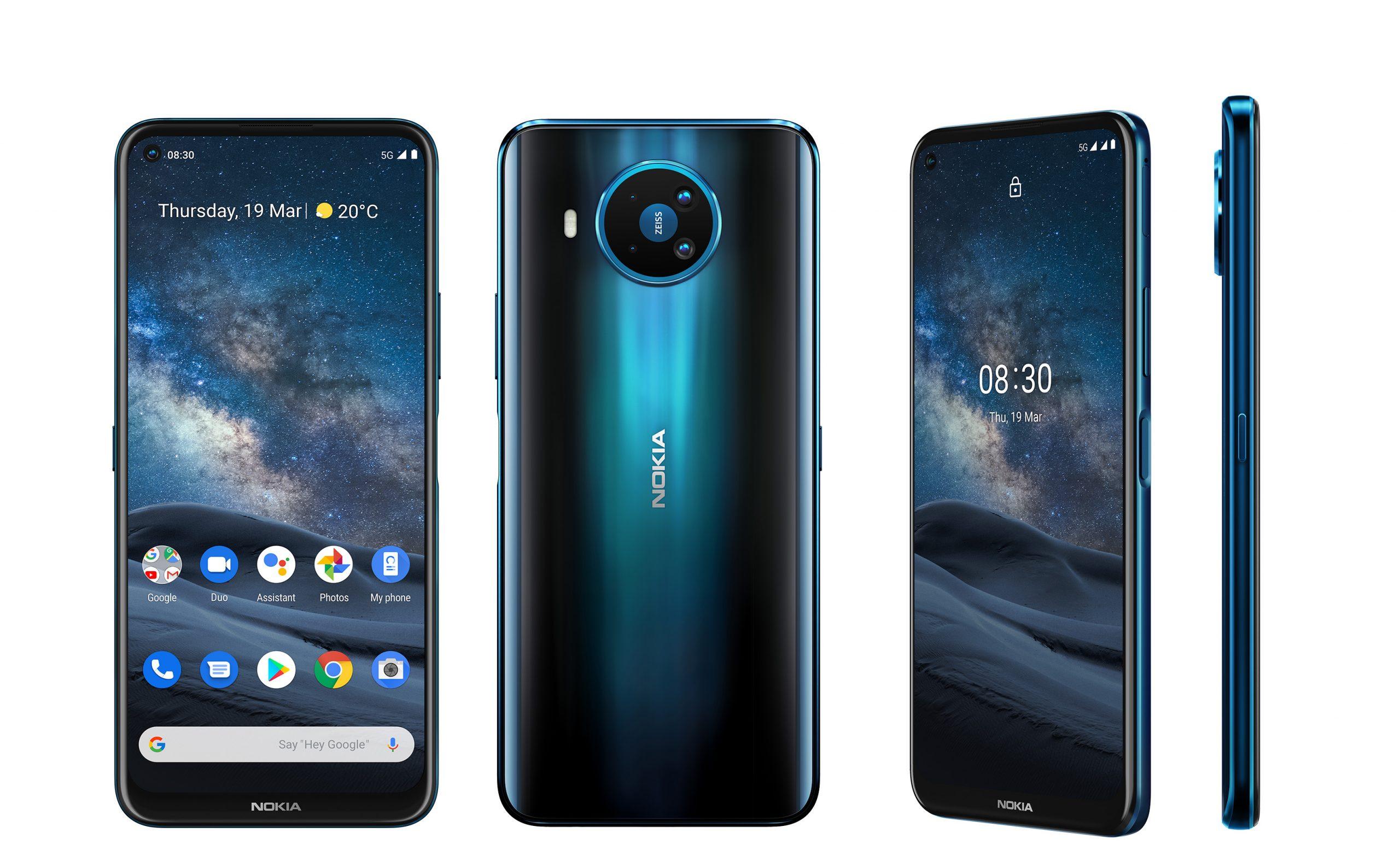Das Nokia 8.3 5G wird im dritten Quartal für 649 Euro in den Handel kommen.