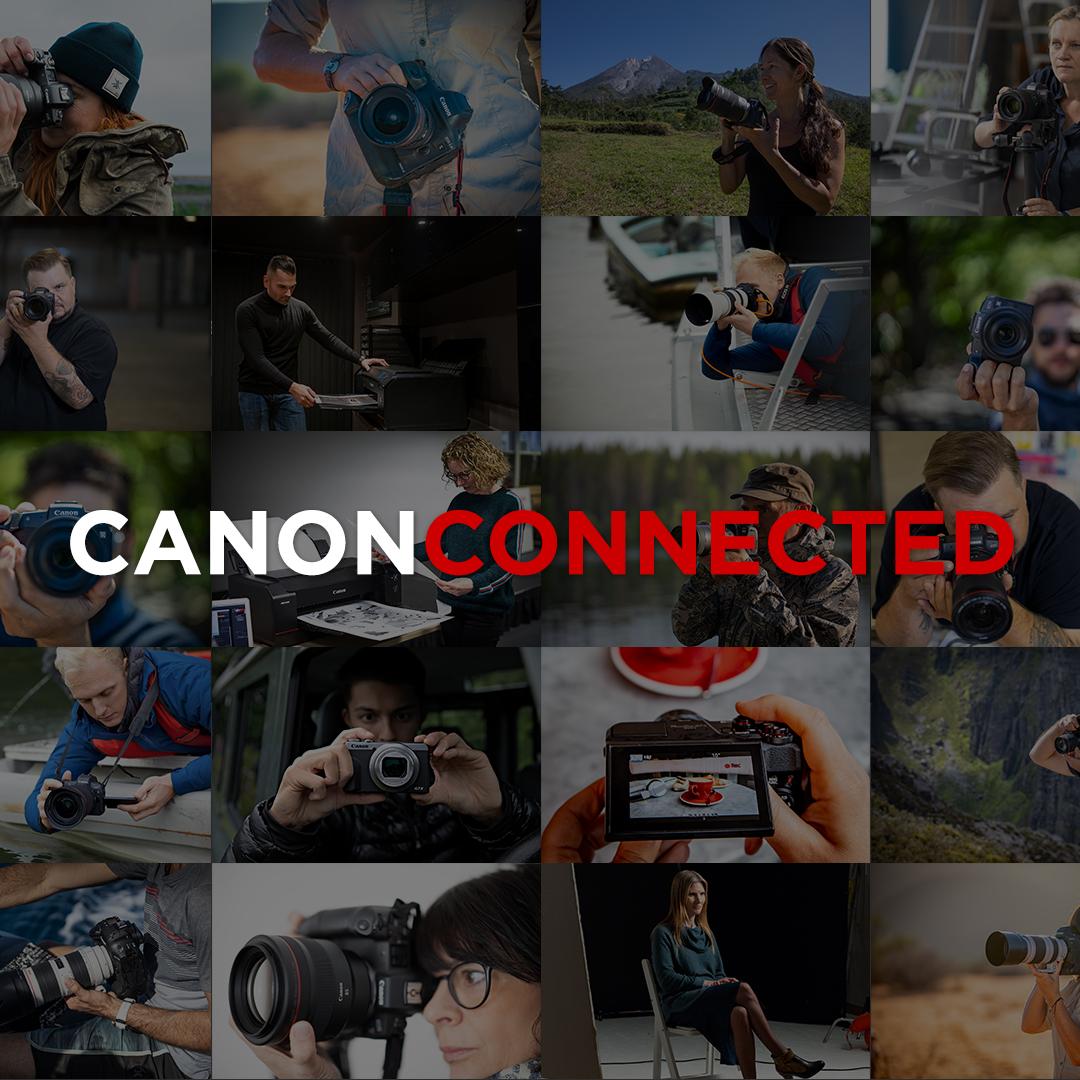 Von Profis lernen: Canon launcht Canon Connected, den neuen Content Hub für Fotografie und Film.