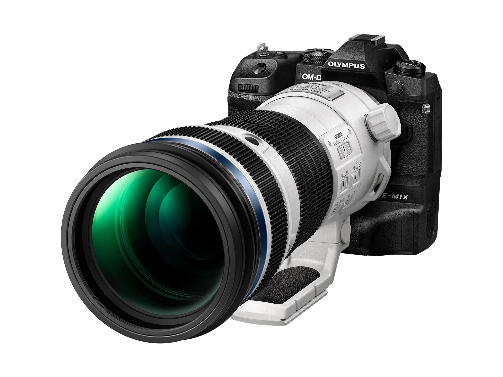 Im Jänner 2019 angekündigt, soll das Supertelezoomobjektiv M.Zuiko Digital ED 150-400mm F4.5 TC1.25x IS PRO mit eingebautem 1,25-fach-Telekonverter diesen Winter verfügbar sein.