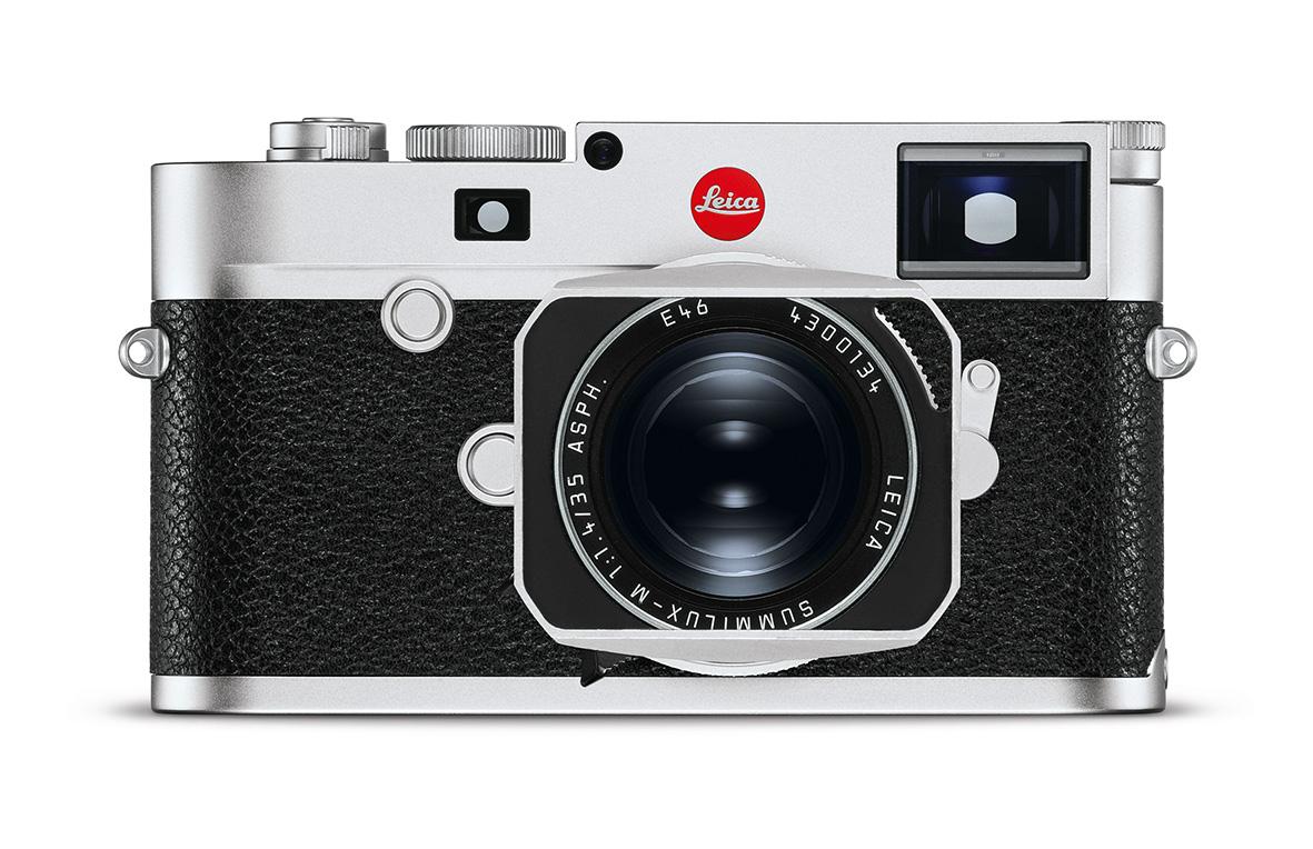 Leica M10-R in Silber-Ausführung mit dem Summilux 1:1,4/35 ASPH.