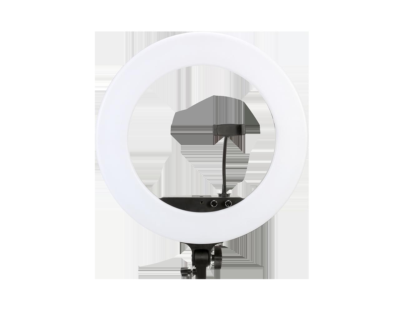Die neue Ringleuchte LR-480C von Jinbei sorgt für die richtige Beleuchtung für gelungene Aufnahmen – auch mit dem Smartphone.