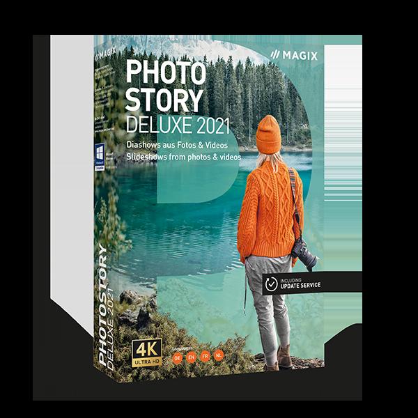Photostory Deluxe ist seit dem 10. August 2020 um 69,99 Euro auf dem Markt.