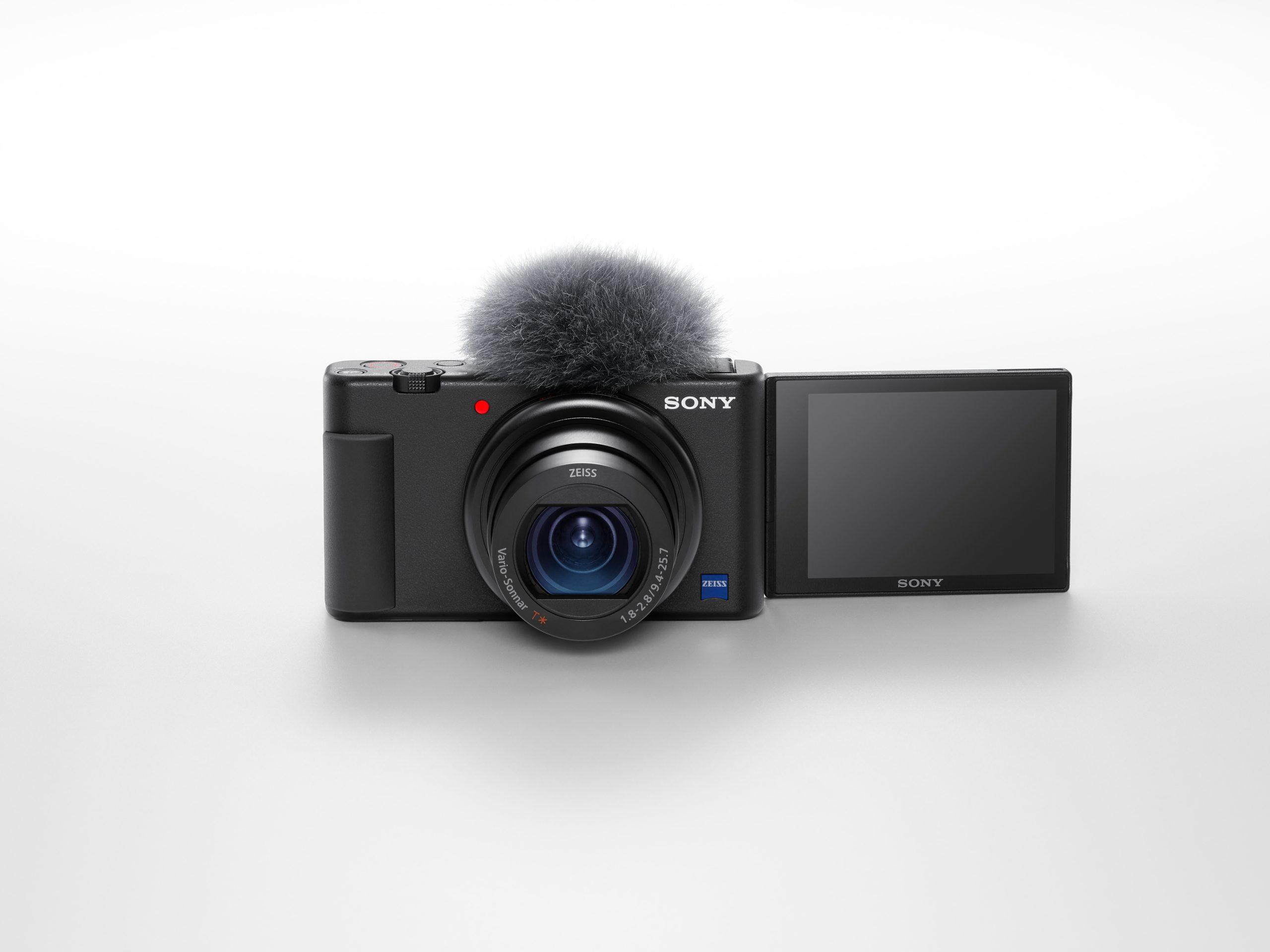"""Die Software """"Imaging Edge Webcam"""" unterstützt auch die neue Vlog-Kamera ZV-1."""