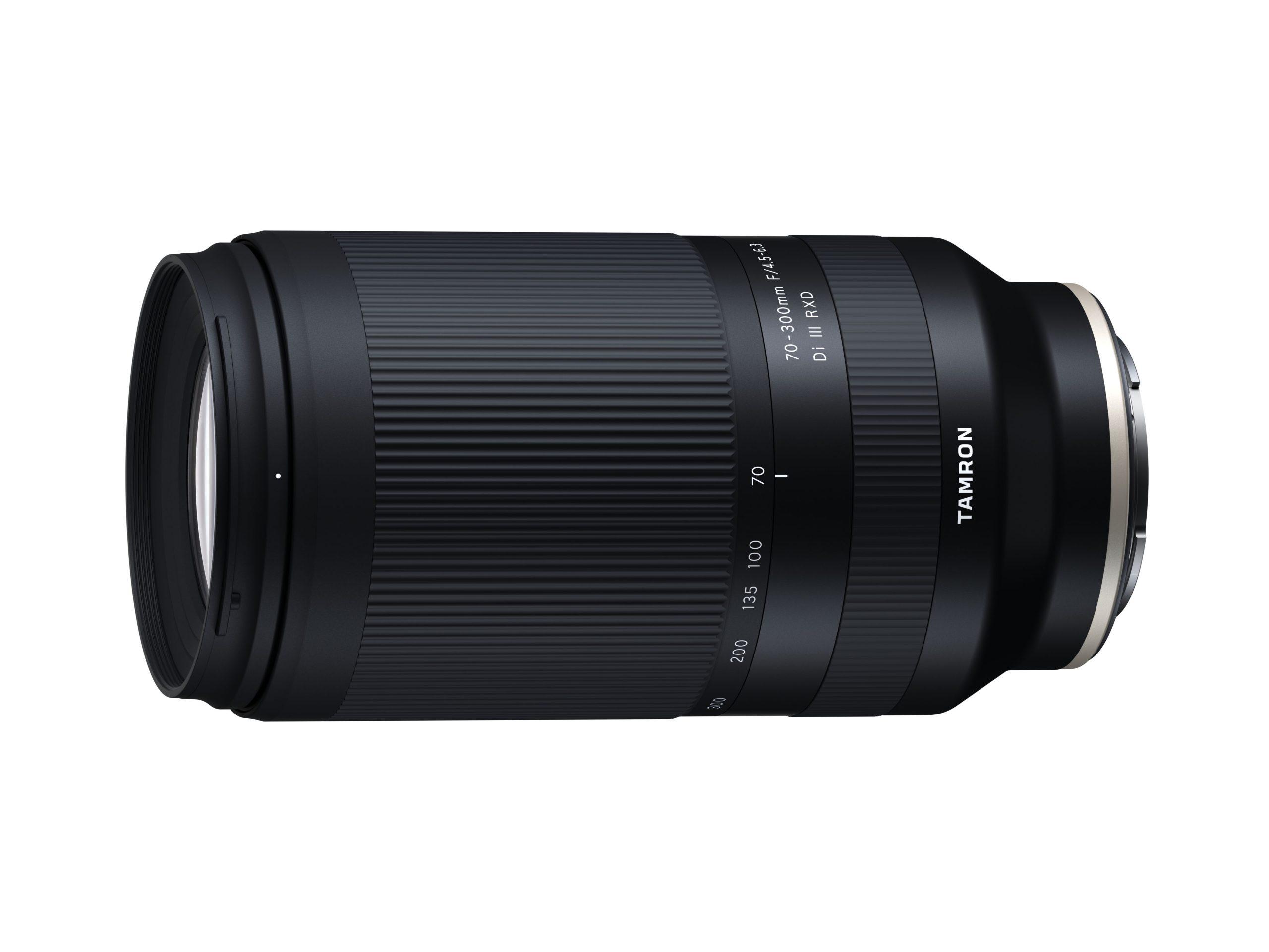 Das Tamron-Telezoomobjektiv 70-300mm F/4.5-6.3 Di III RXD (Modell A047) ist vielseitig einsetzbar, etwa für Landschafts-, Wildlife- und Sportaufnahmen sowie Porträts.