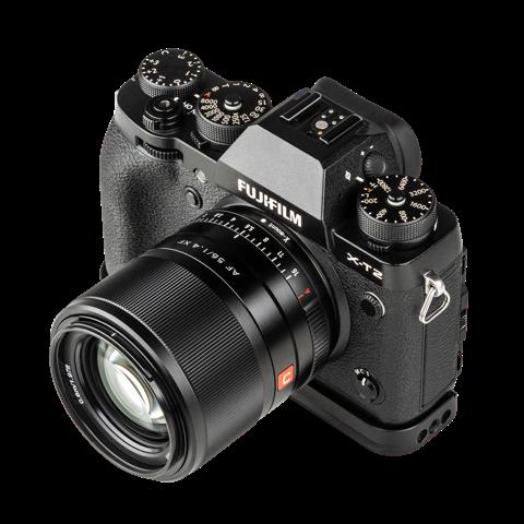 Das AF 56mm f/1.4 XF-Mount mit Fuji-Anschluss ist für APS-C-Kameras gefertigt. (c) Rollei