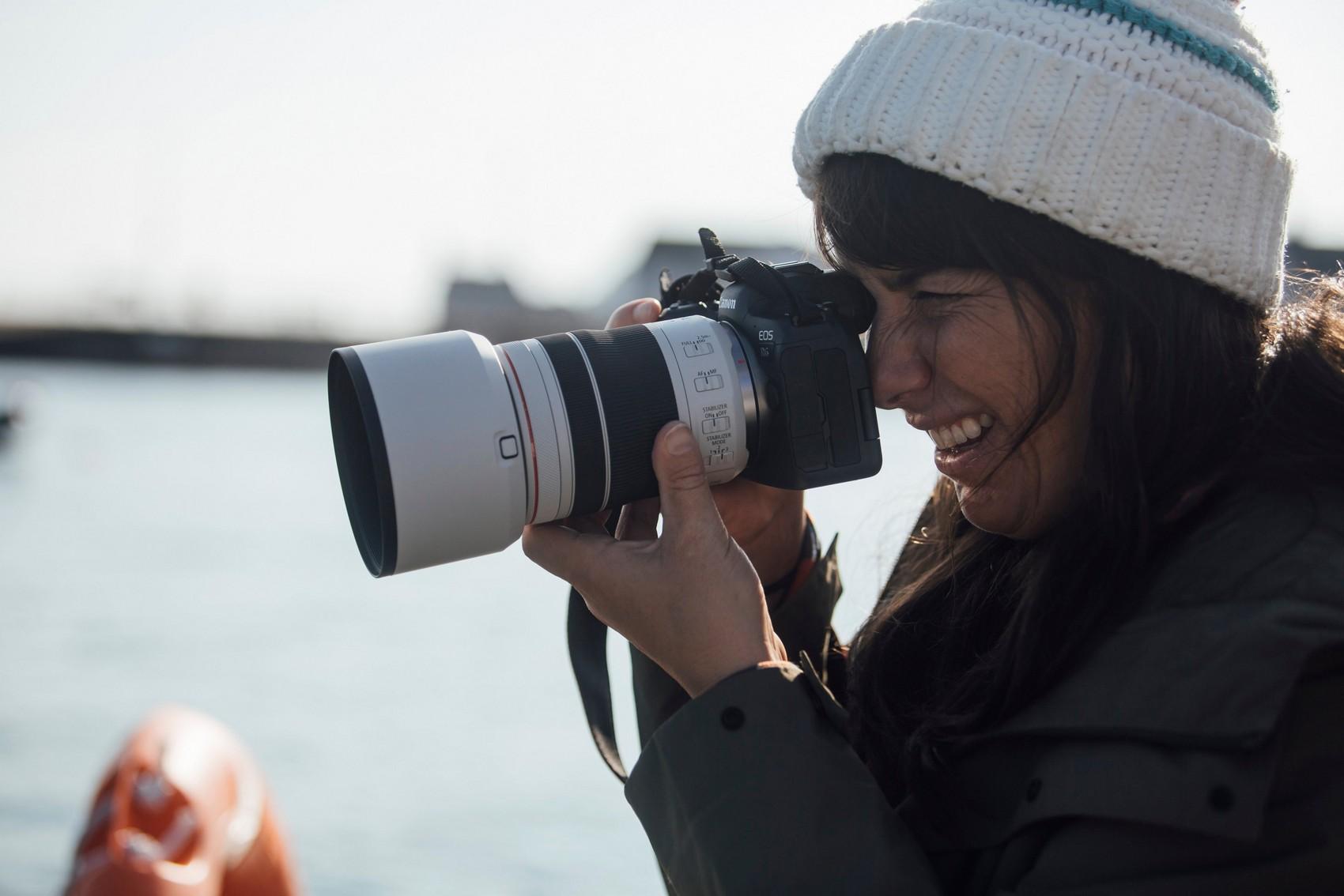Das Canon RF 70-200 mm F4L IS USM eignet sich für eine Vielzahl von Genres – von Wildlife- über Sport- bis hin zur Reise- und Porträtfotografie. (c) Canon