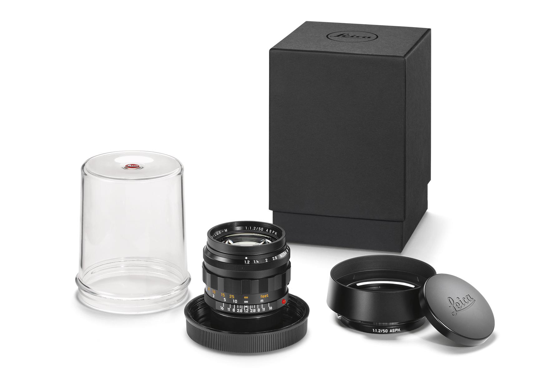 Das Leica Noctilux-M 1:1.2/50 ASPH in schwarzer Ausführung. (c) Leica Camera AG