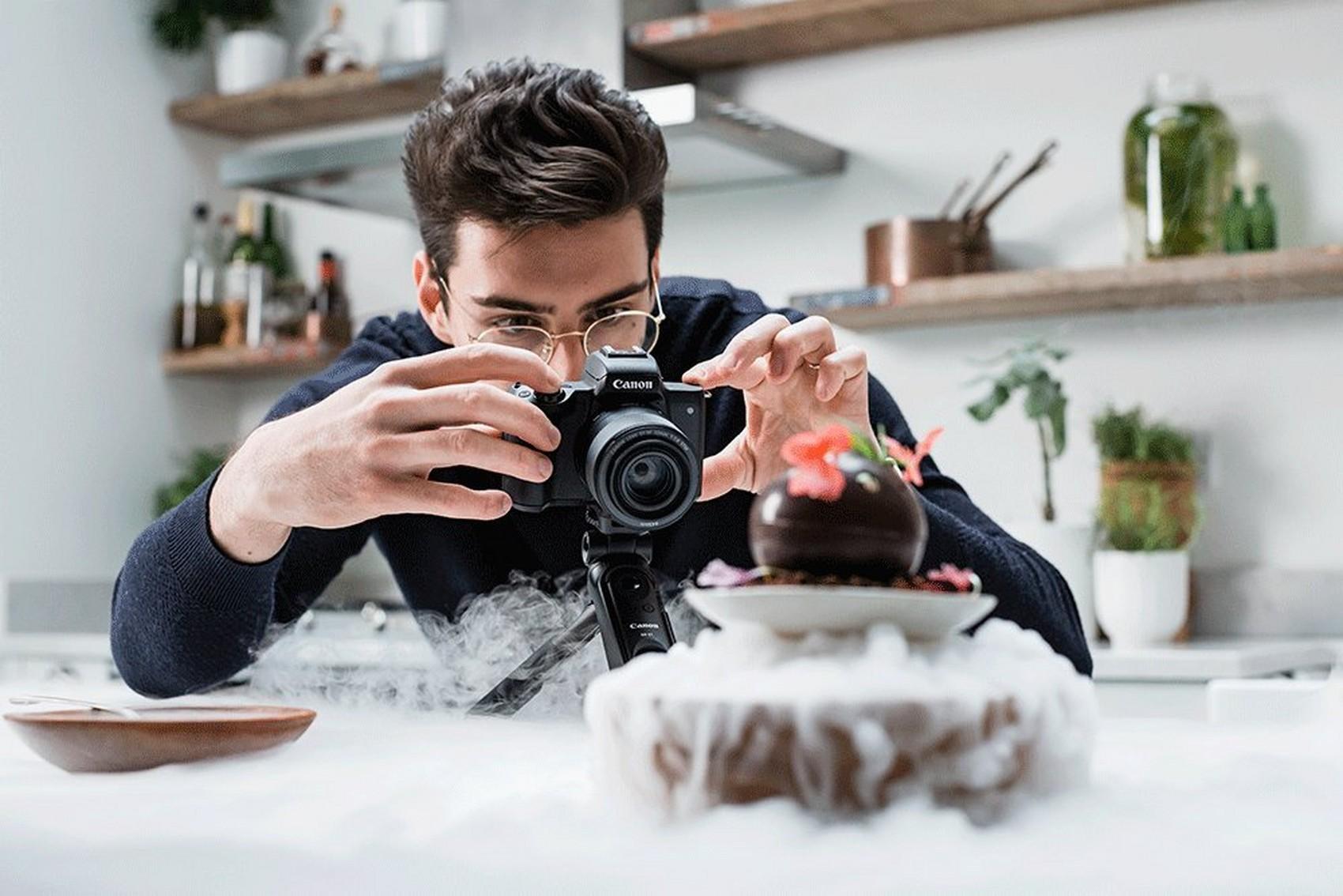 Die EOS M50 Mark II ist Canons Antwort auf die wachsende Nachfrage nach einer qualitativ hochwertigen Kamera für zeitgemäßen Content in den sozialen Medien. (c) Canon