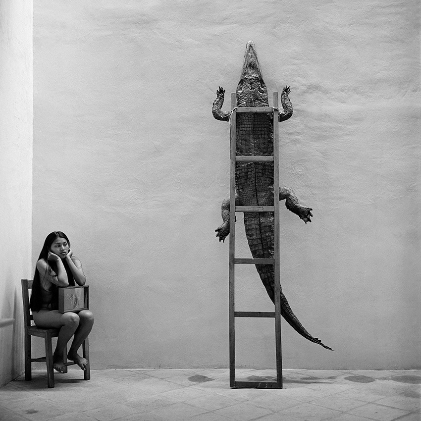 """Graciela Iturbide: »Alheli"""", Oaxaca,1995 (c) Graciela Iturbide, Alheli, Oaxaca,1995 /Sony World Photography Awards 2021"""